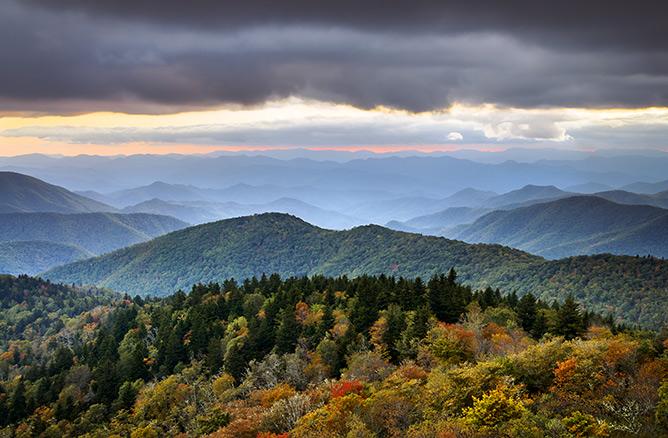 appalachian blue ridge mountains wallpaper - photo #10