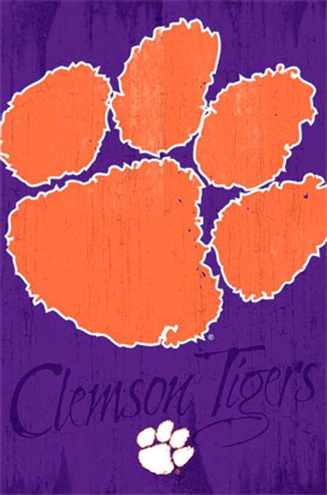 on Wallpaper WallpaperSafari Clemson Tiger [49+] Paw