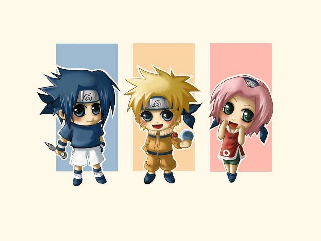 Naruto chibi   Funny Anime Wallpaper Anime Wallpapers 1024x768