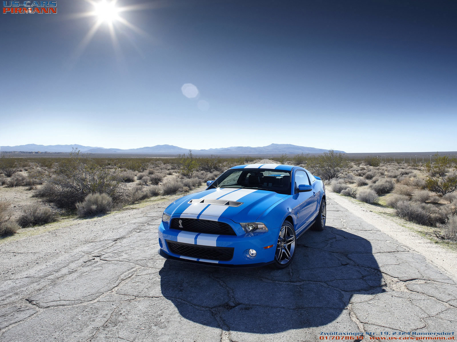 Ford Mustang Shelby GT 500 2010 16001200 Wallpaper 1600x1200