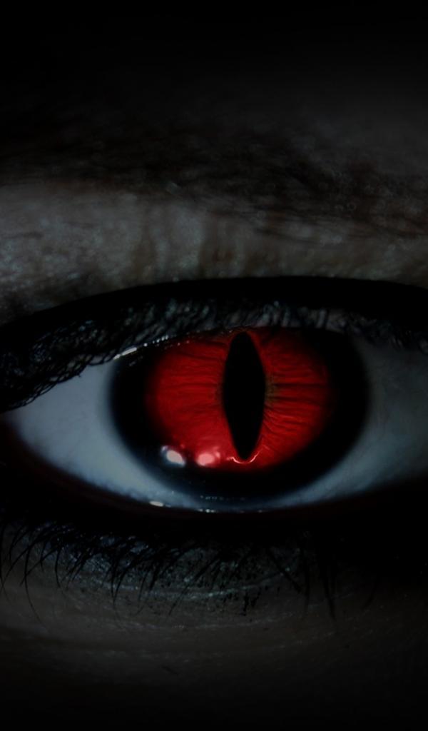 Eyes red devil wallpaper 65838 600x1024