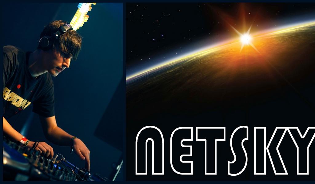 Download wallpaper 1024x600 netsky man earth sun space netbook 1024x600