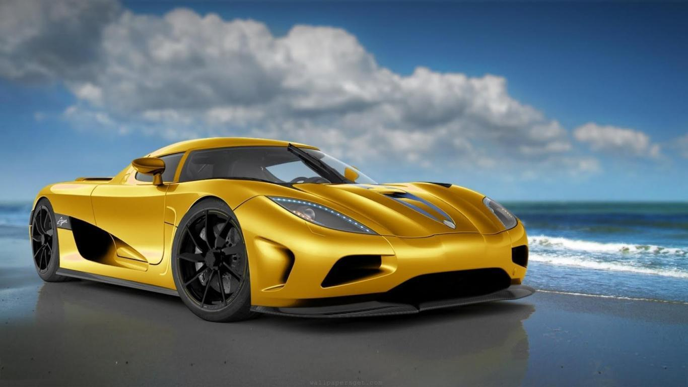 HD Supercar Wallpapers 1366x768