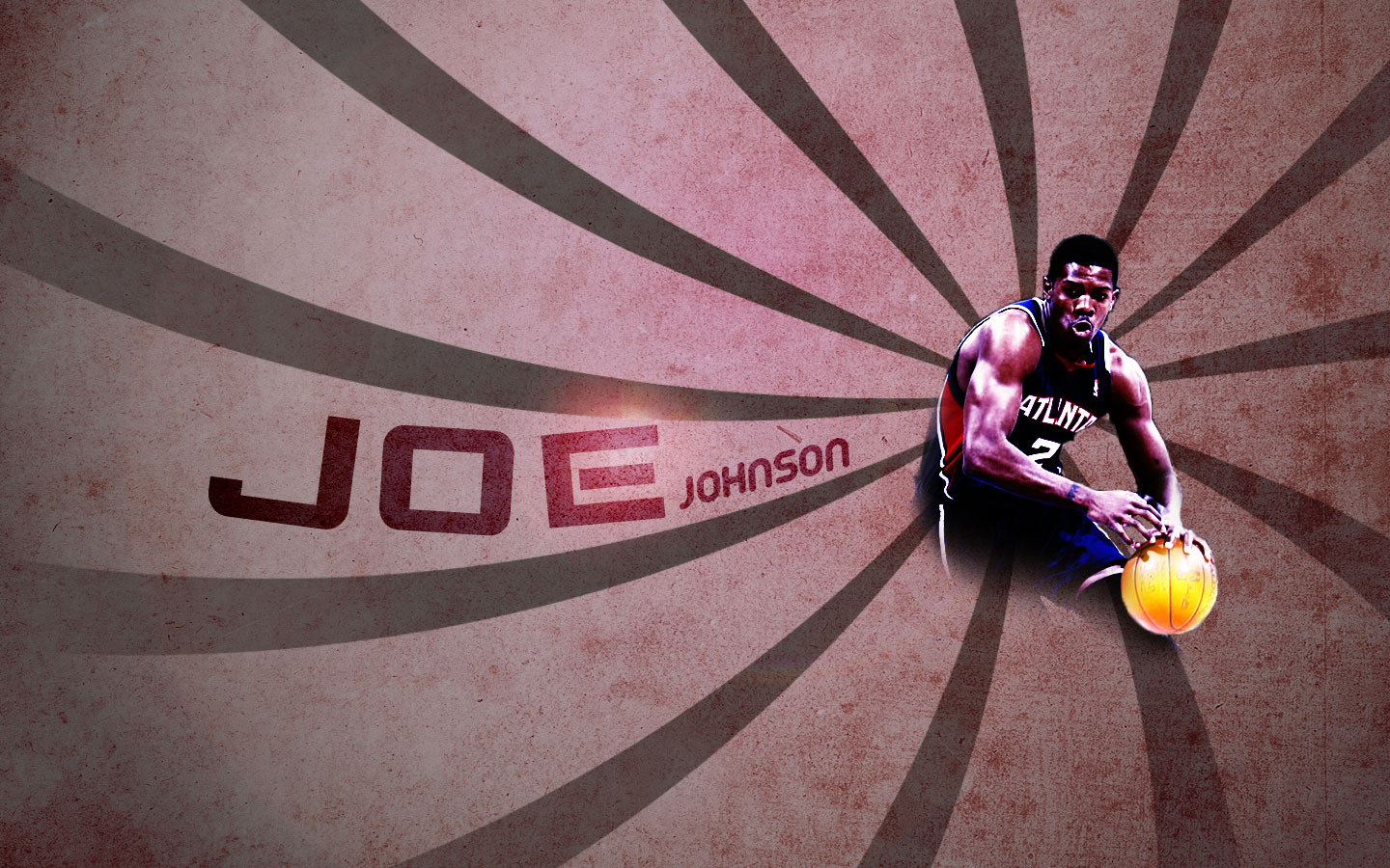 Joe Johnson Hawks Widescreen Wallpaper Basketball 1440x900