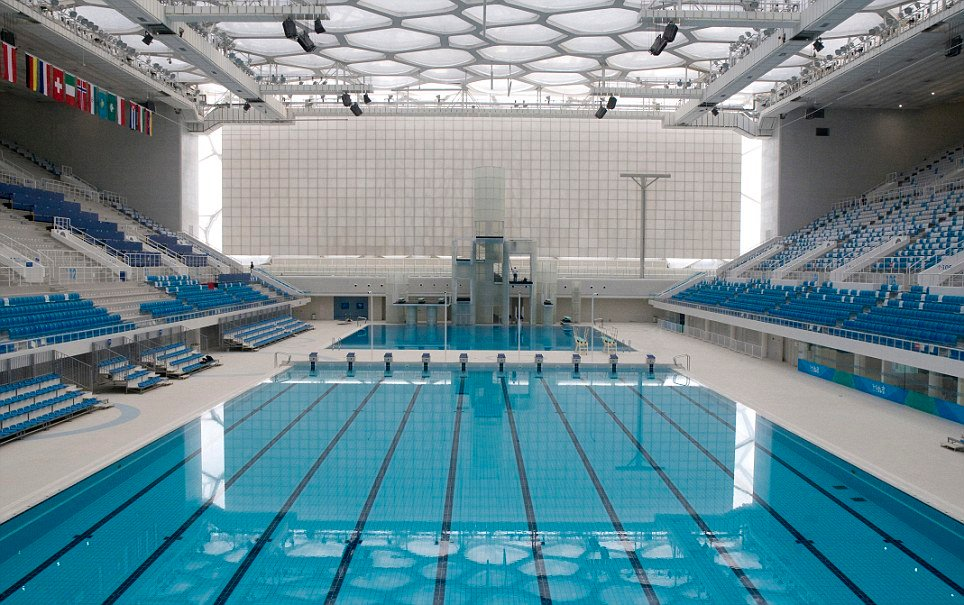 Olympic Swimming Pool Wallpaper Wallpapersafari
