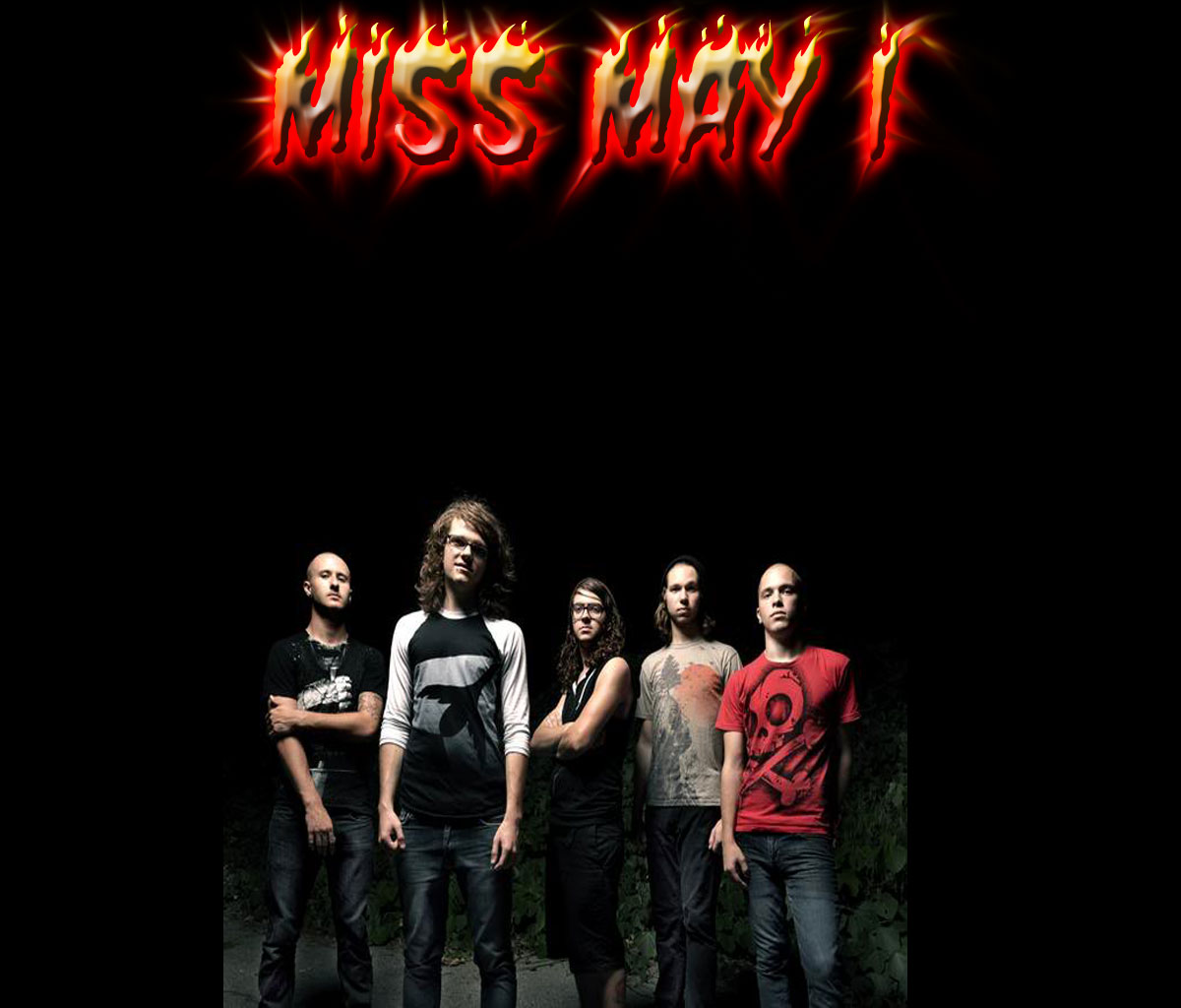 Miss May I wallpaper ALL ABOUT MUSIC 1200x1024