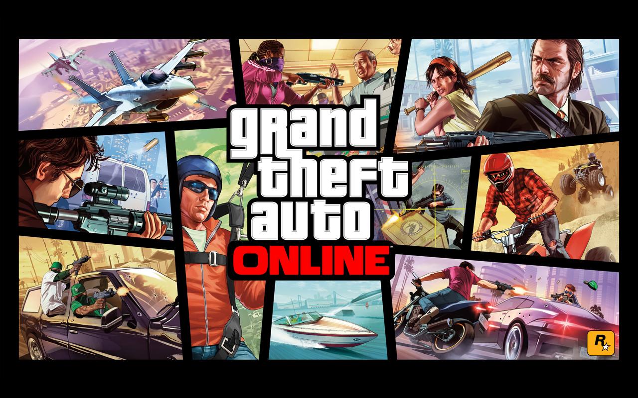GTA Online Wallpaper 1280x800