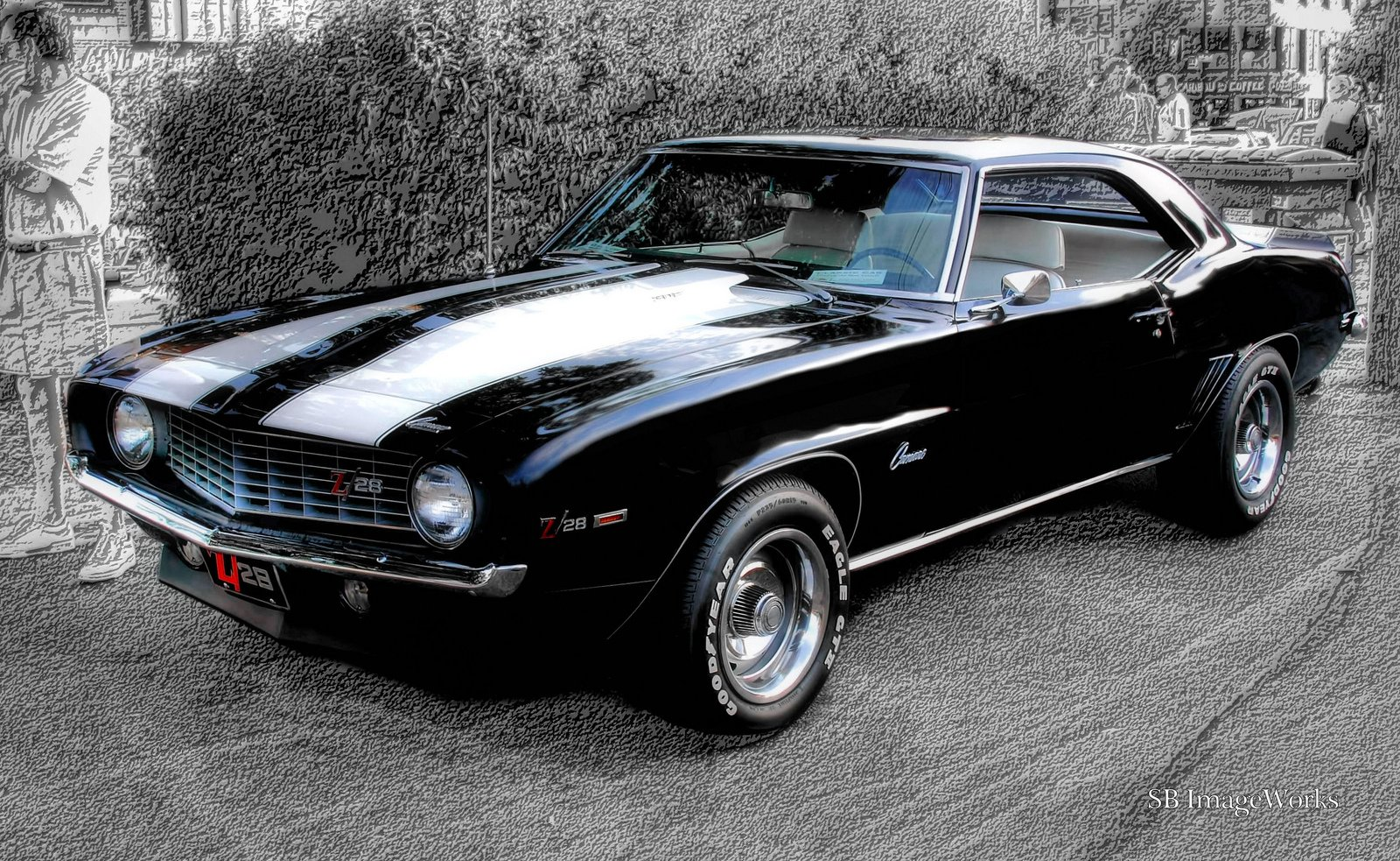 Free download 1969 Chevy Camaro Black Z28 Rs Youtube Autos
