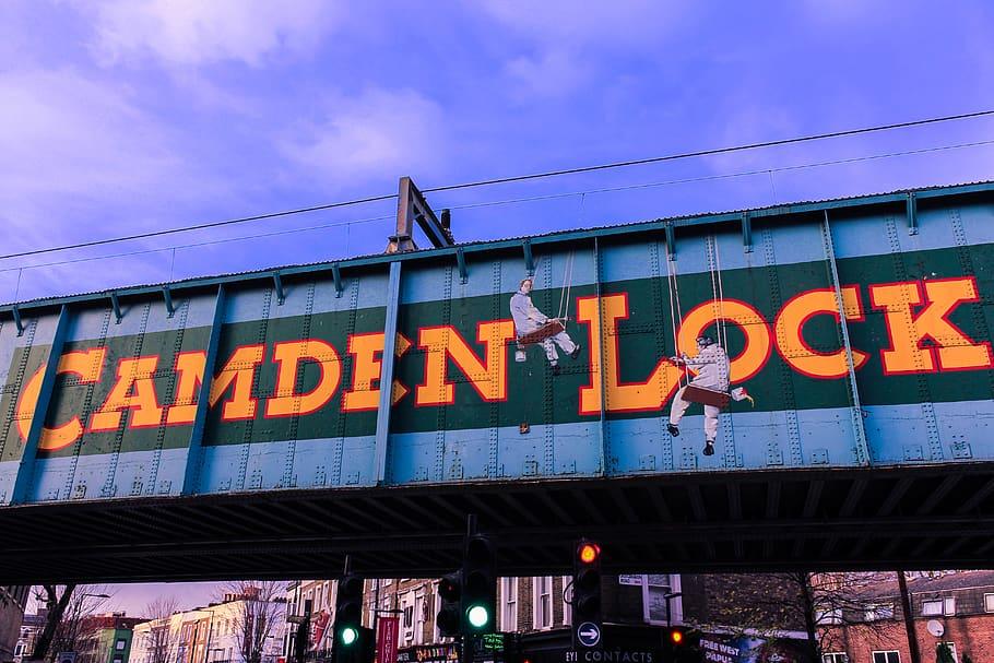 HD wallpaper london united kingdom colours camden lock london 910x607
