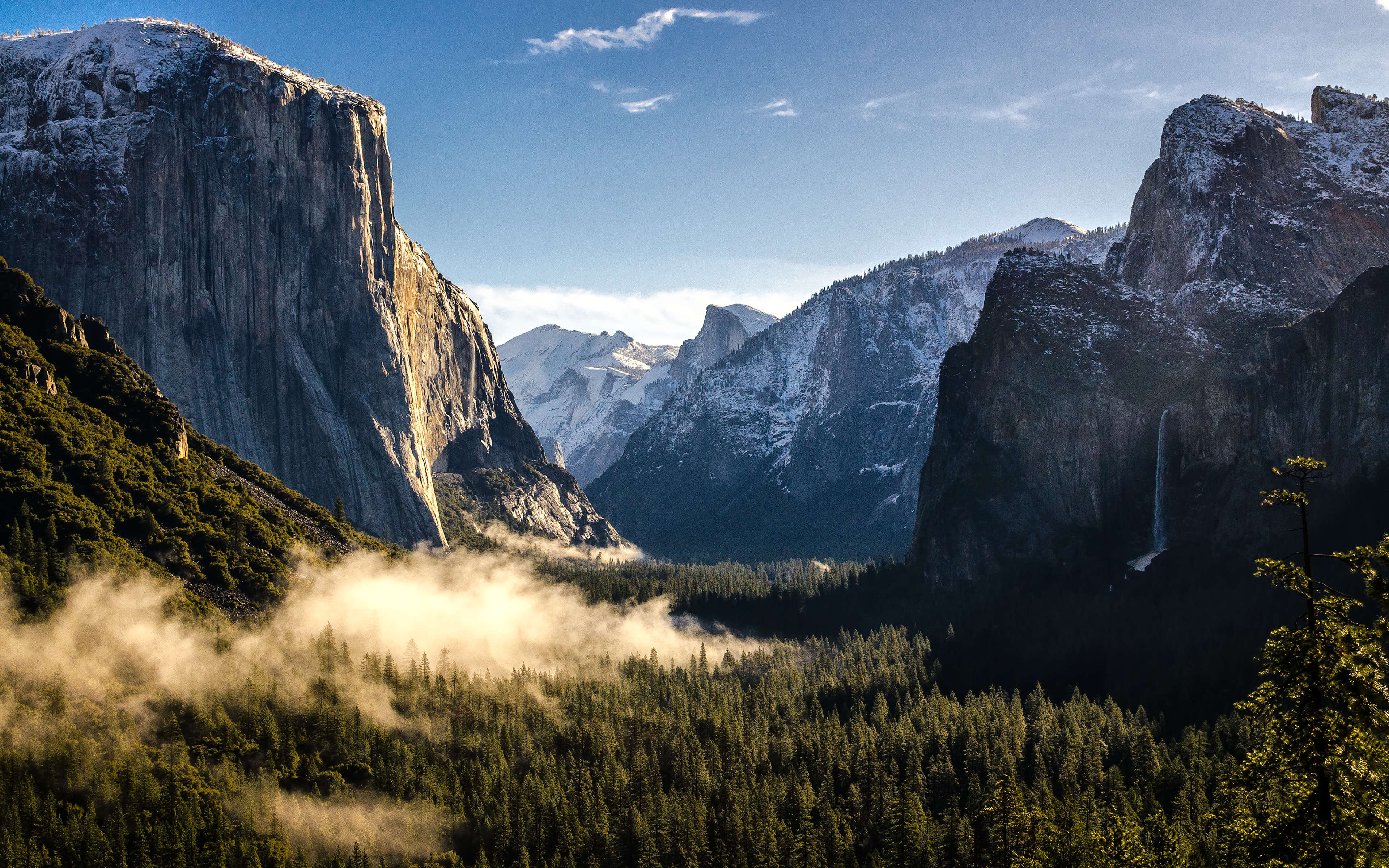Daily Wallpaper Yosemite National Park in the Morning I Like To 3840x2400