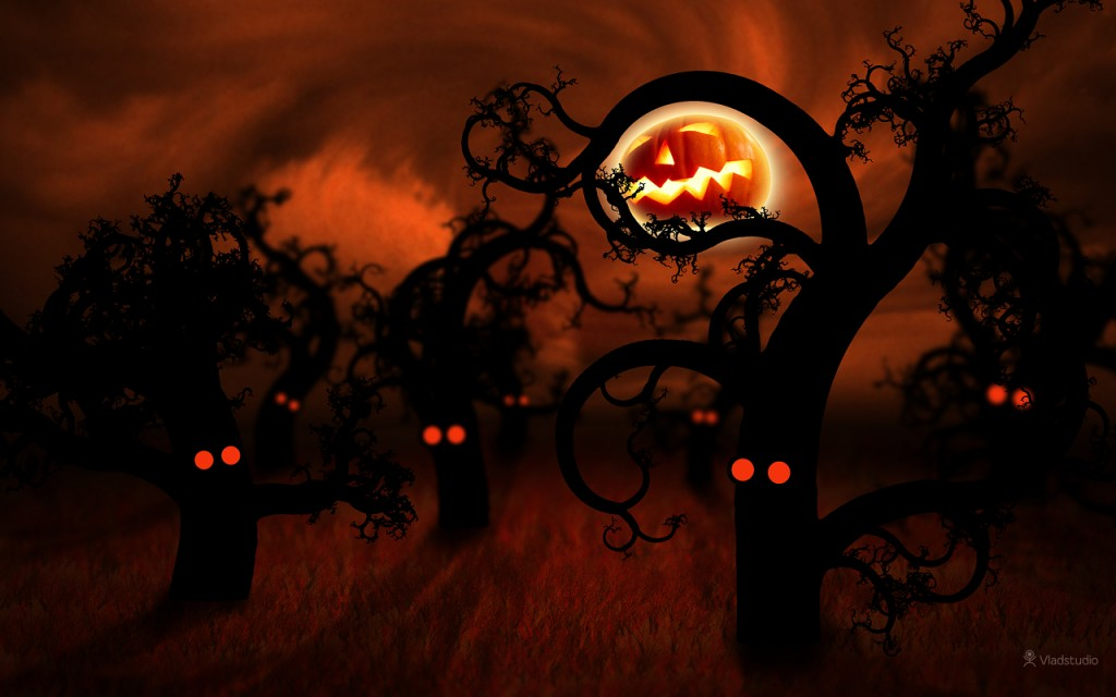 Halloween computer wallpapers   SF Wallpaper 1024x640
