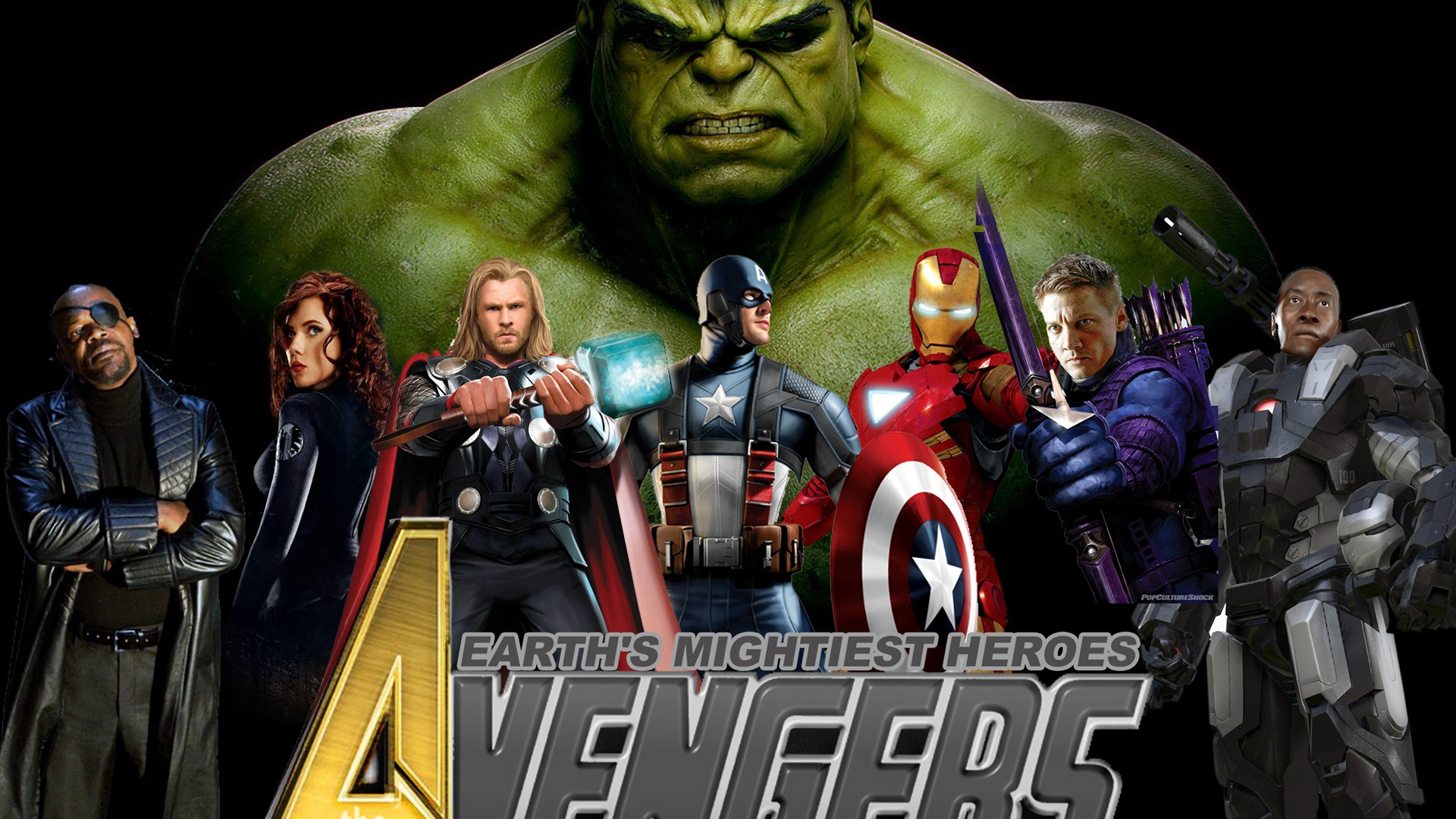 The Avengers Wallpapers For Desktop 1920x1080 Movie 1920x1080
