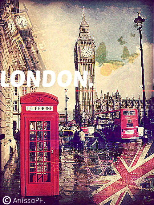 London Wallpaper by RilakkumAnissart 500x667