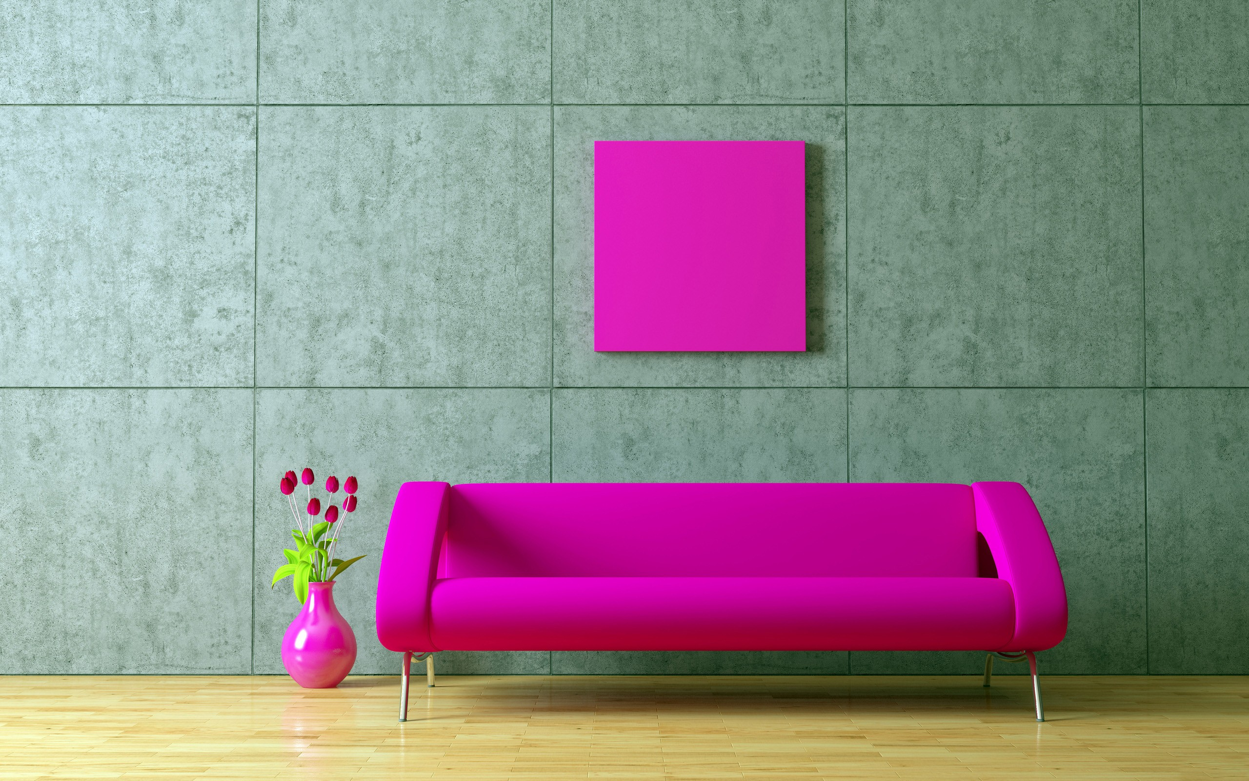 Furniture Wallpapers Living Room Pink Furniture HD Wallpapers 2560x1600