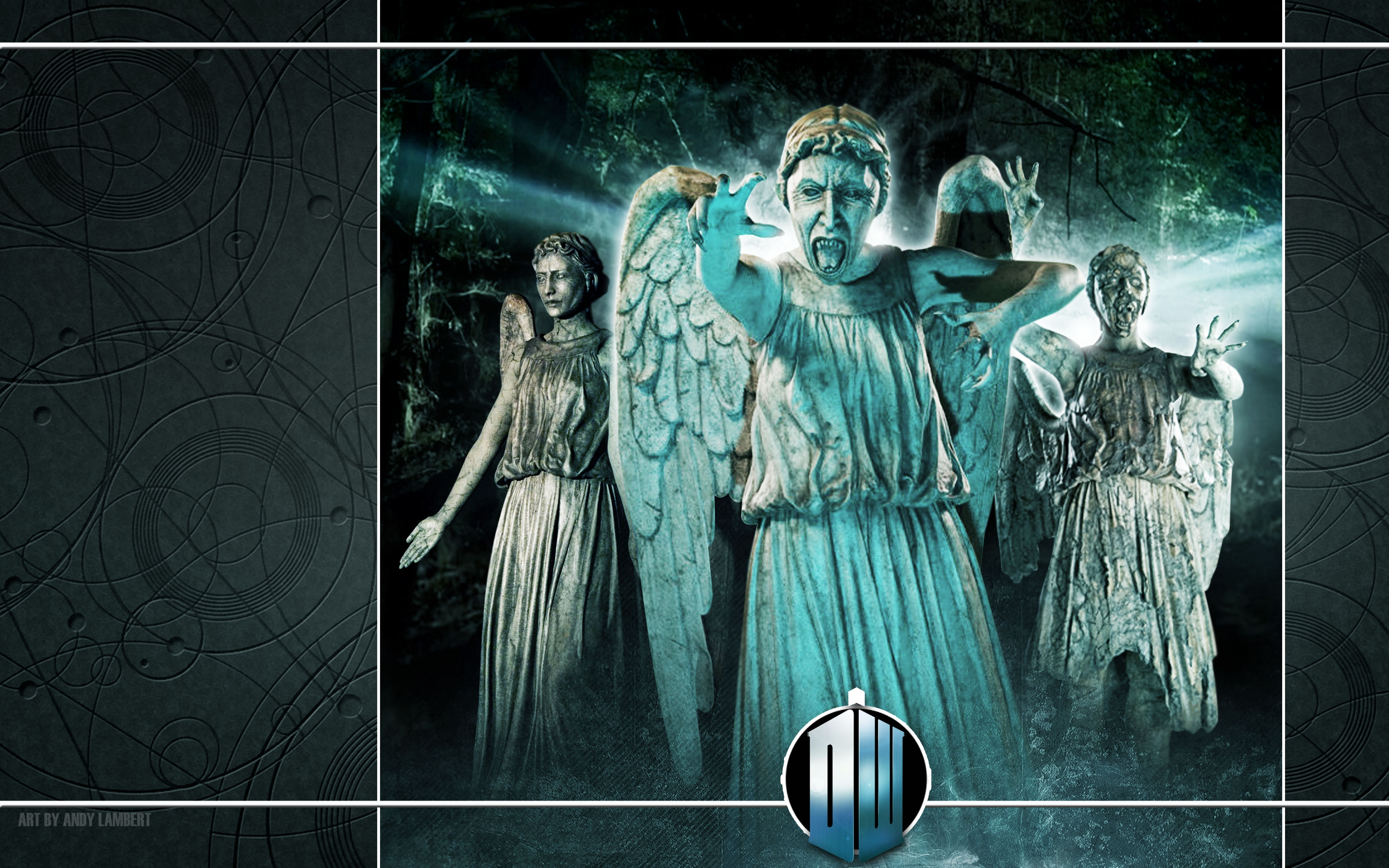 Free Download Doctor Who Weeping Angel 4850x3031 Wallpaper