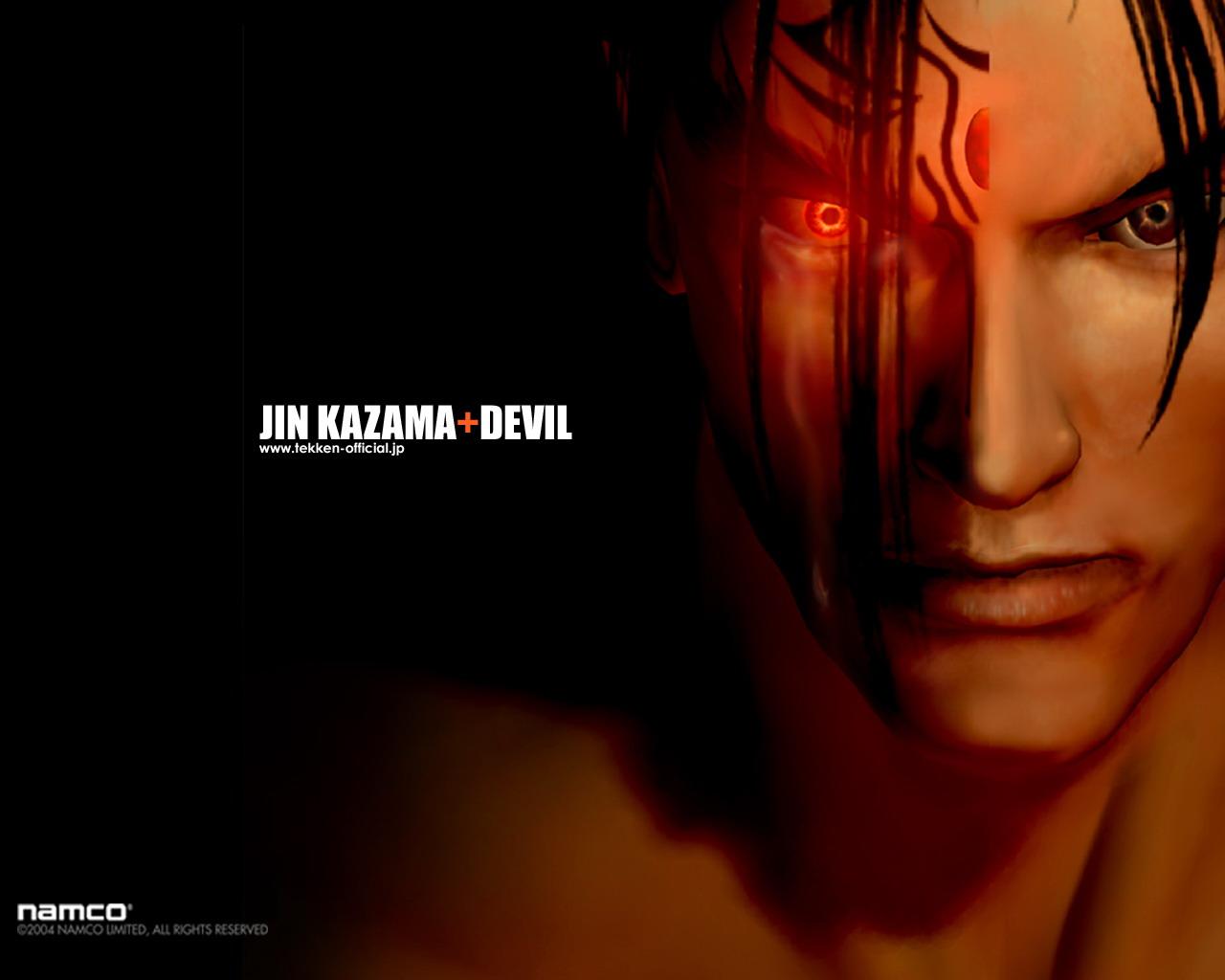 jin kazama devil tekken 4 wallpaper jin kazama devil wallpaper jin 1280x1024
