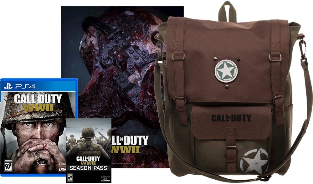 Call of Duty WWII Pre Order Bonuses Game Preorders 1000x588