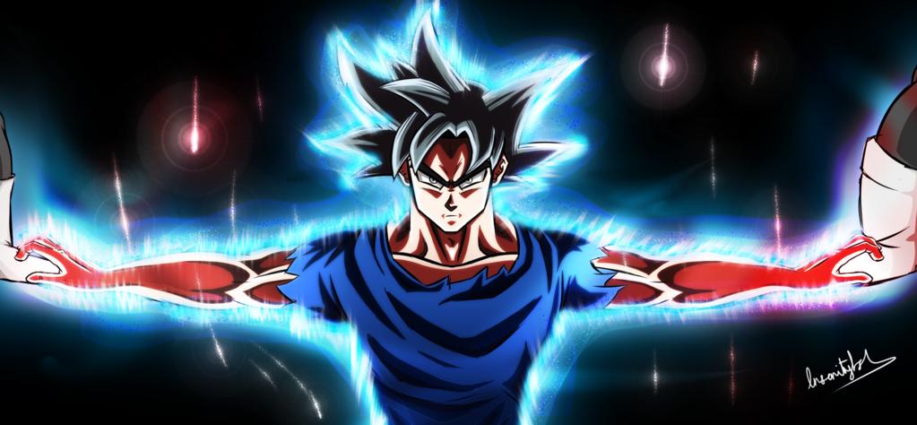Goku Ultra Instinct by InsanityAsh 1023x474