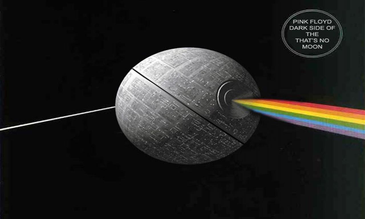Animals Star Wars Death Dark Side Of The Moon Desktop Wallpaper 1280x768