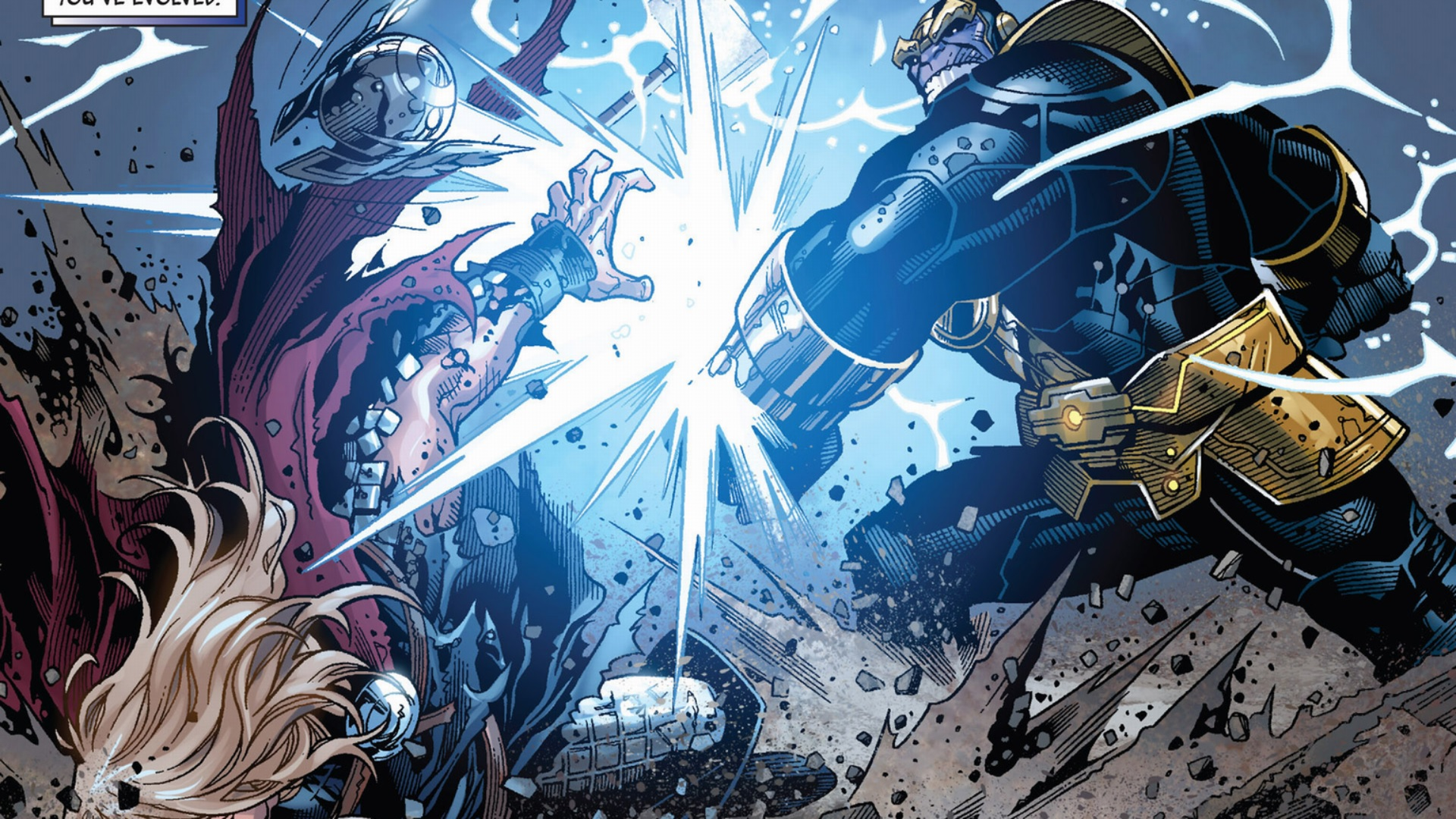 Thor and Thanos in Marvel Infinity   Thor   Comic Vine 1920x1080