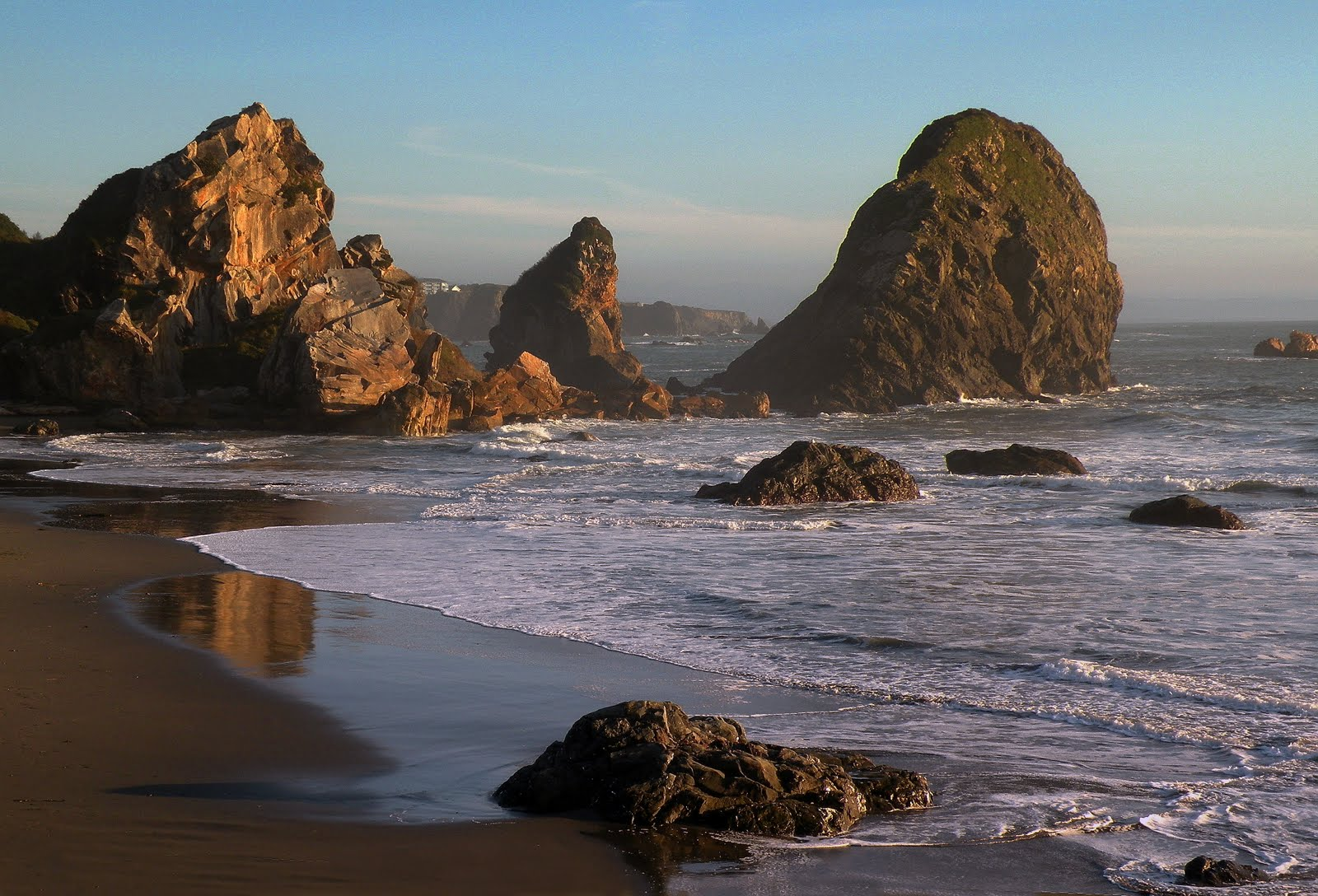 Beautiful Oregon Coast Wallpaper Images WallpaperSafari