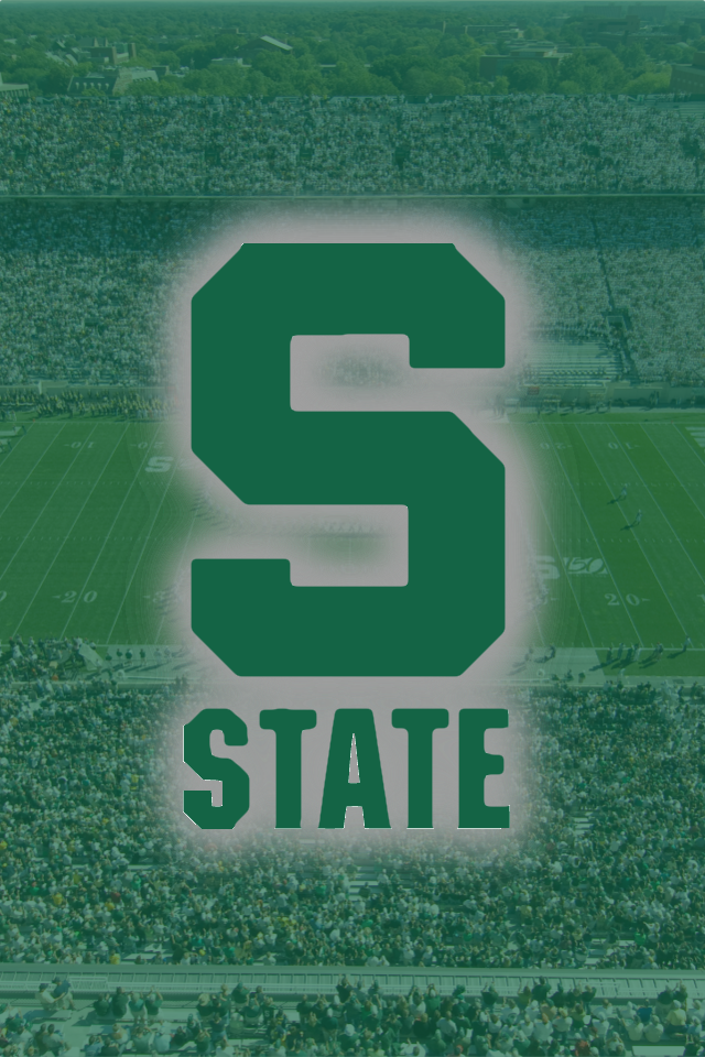 Michigan State iPhone 4S Wallpaper by neegus 640x960