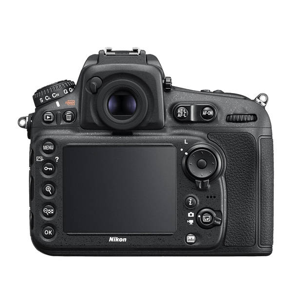 Nikon D810 Camera back view transparent image Png Images 624x624