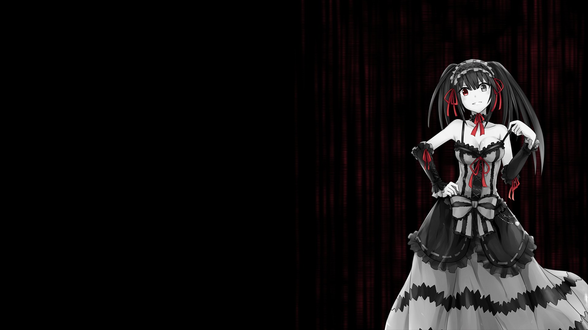 Date a live Kurumi Tokisaki wallpaper background 1920x1080