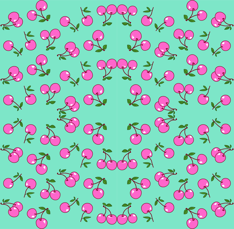 mint and pink wallpaper - photo #15