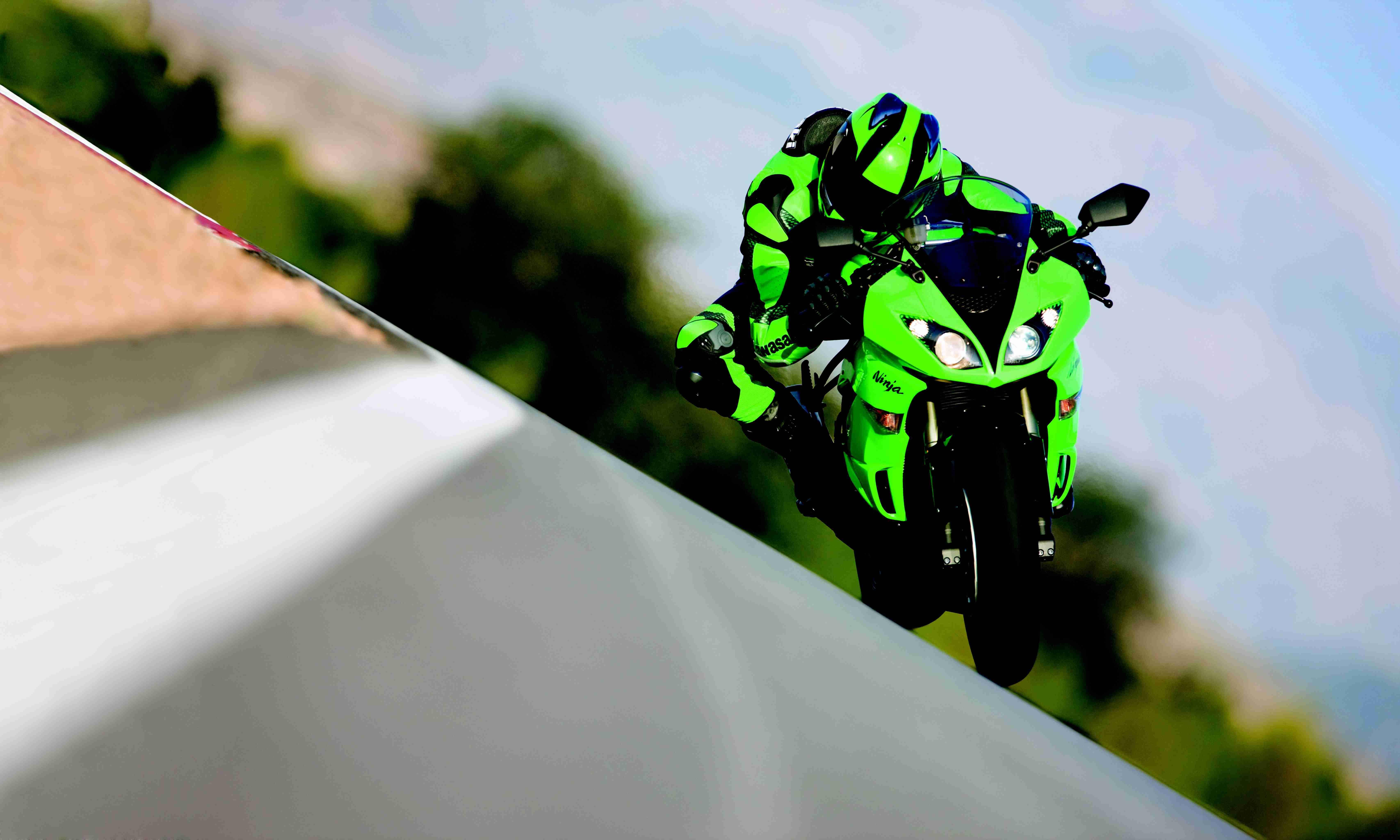 Kawasaki Ninja 68274096 Wallpaper 860446 6827x4096