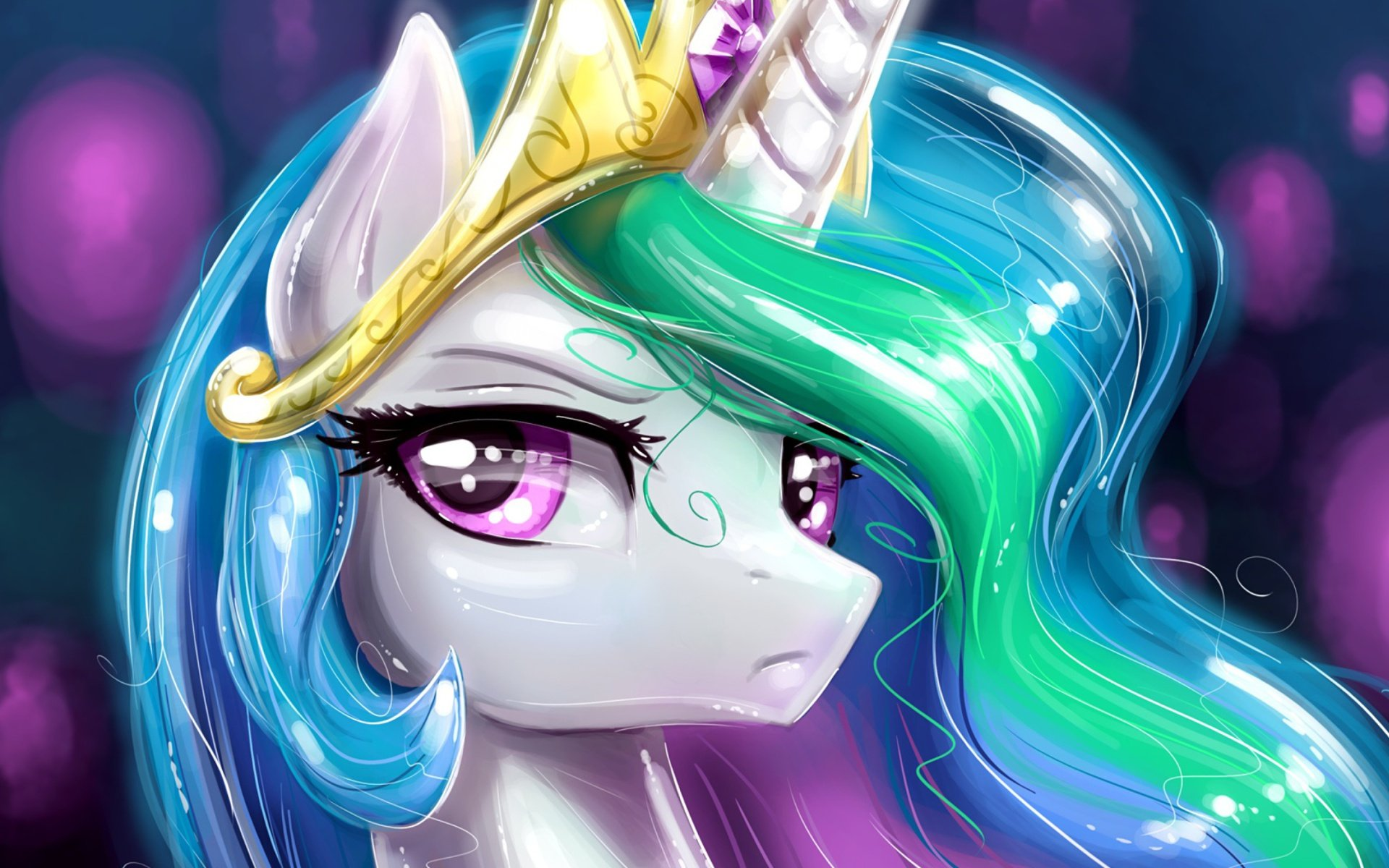 Unicorn Portrait 1920x1200 android wallpaper 1920x1200