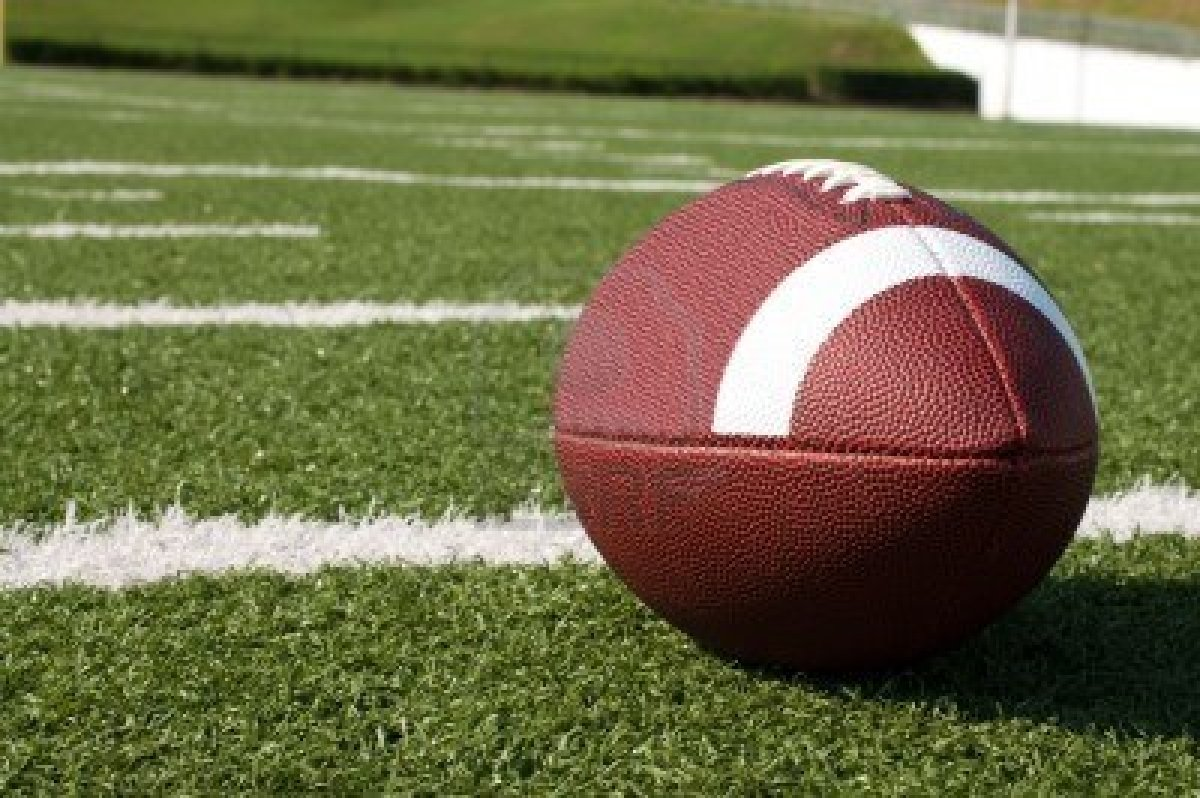 football field hd wallpapercloseup of american football on field 1200x798