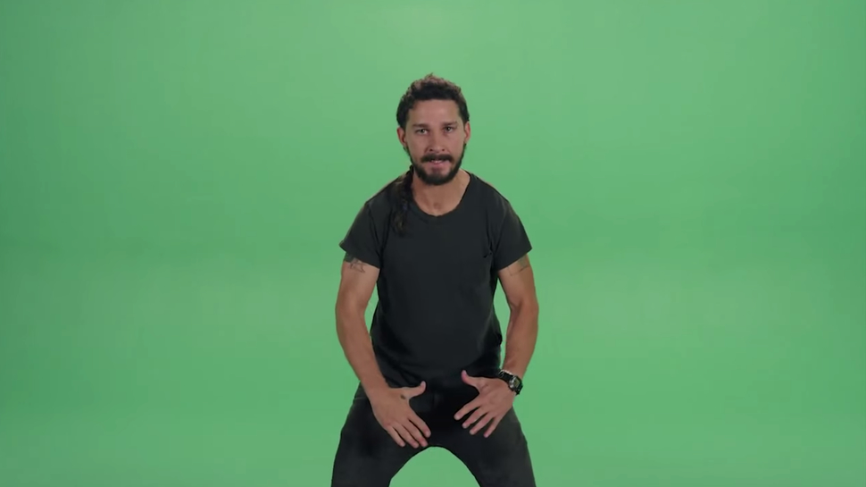 JUST DO IT Shia LaBeouf Is Spreading Motivation All Over the Internet 970x545