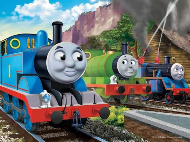 Thomas And Friends HD Dekstop Download Cartoon Wallpaper For 640x480