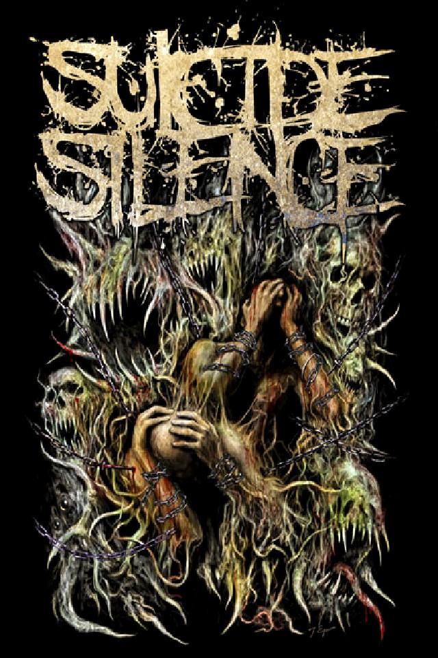 76 Suicide Silence Wallpaper On Wallpapersafari