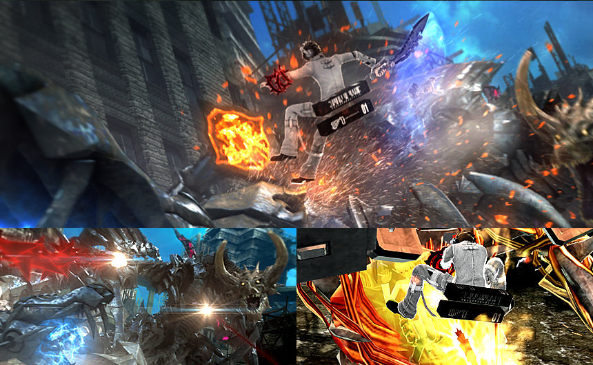 Freedom Wars will allow up to eight people to play in co op and 860x530