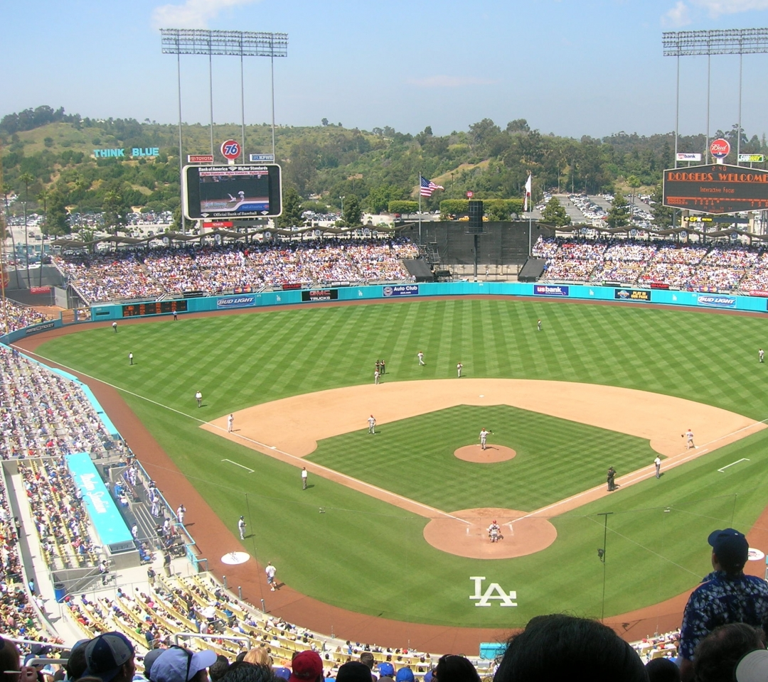 dodger stadium wallpaper   wwwhigh definition wallpapercom 1080x960