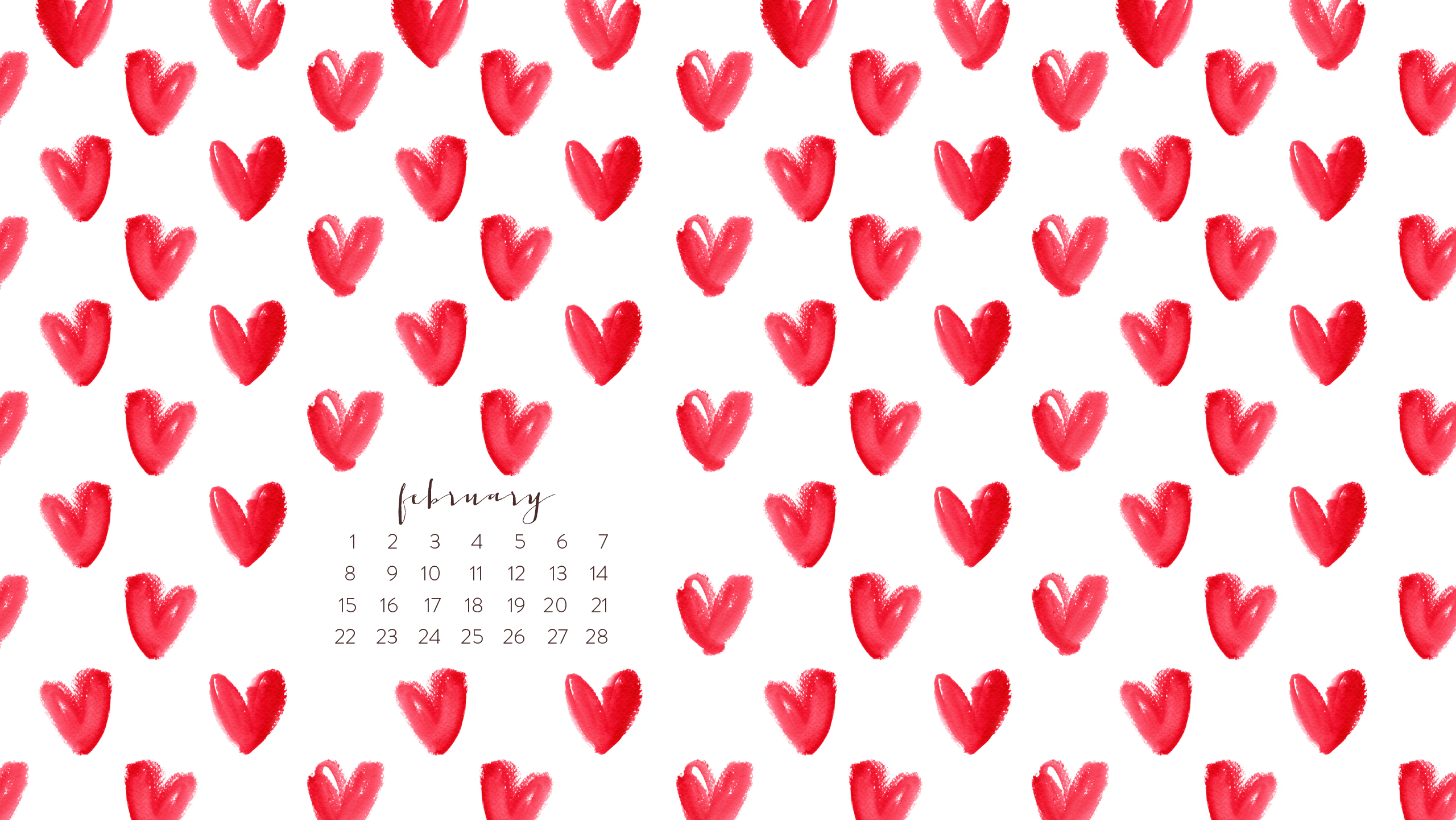 February 2015 Wallpapers are Here and We 2560x1441