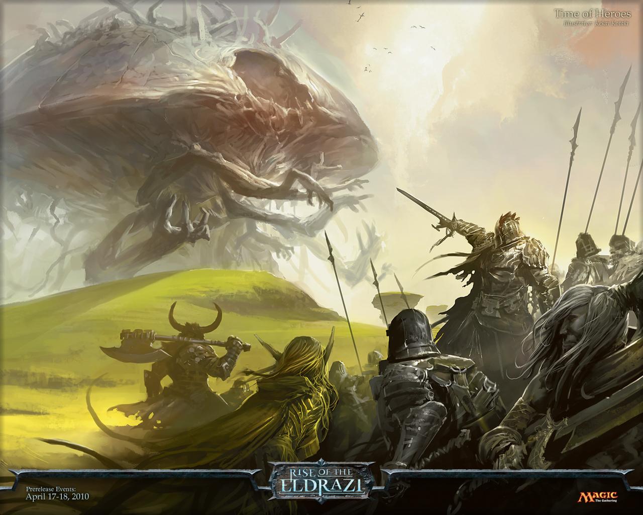 Rise of the Eldrazi Wallpaper 4 Wizards