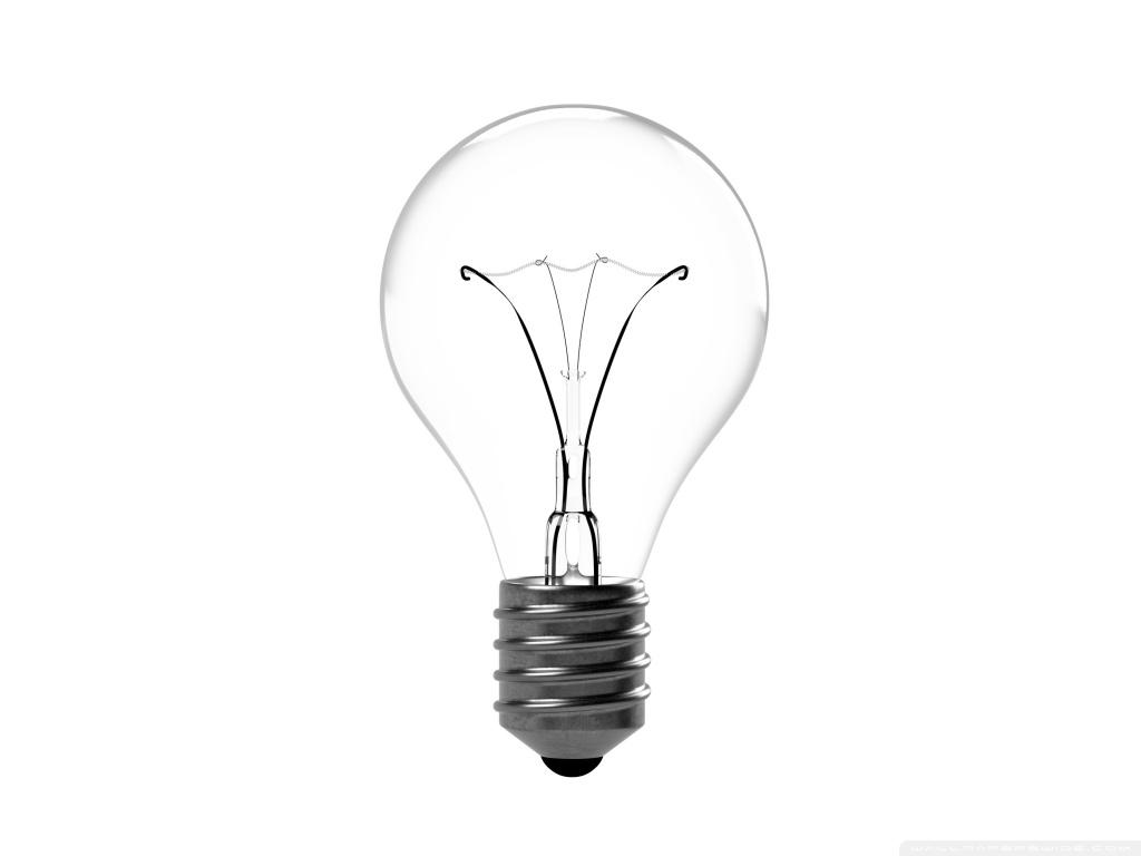 Incandescent Light Bulb 4K HD Desktop Wallpaper for 4K Ultra HD 1024x768