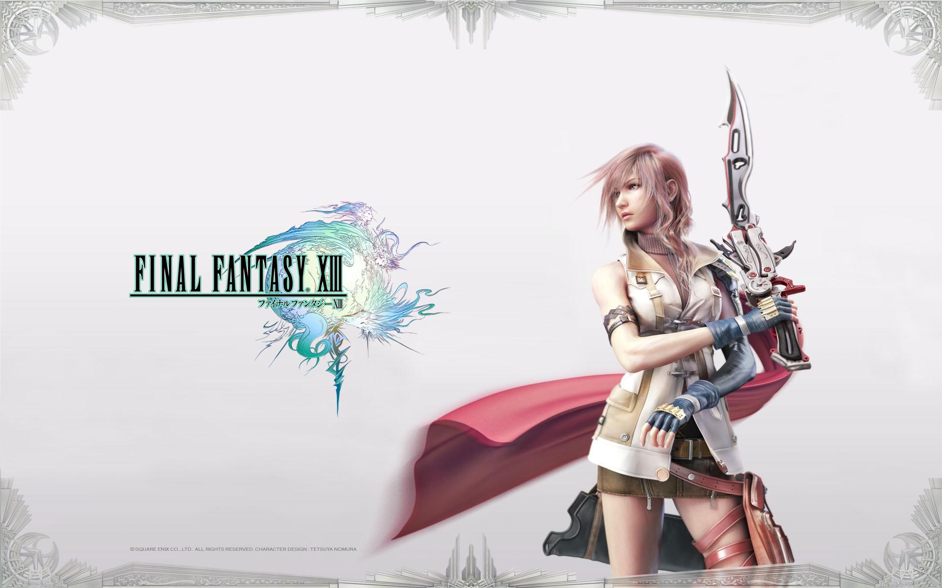 Final Fantasy Xiii Wallpaper Wallpapersafari