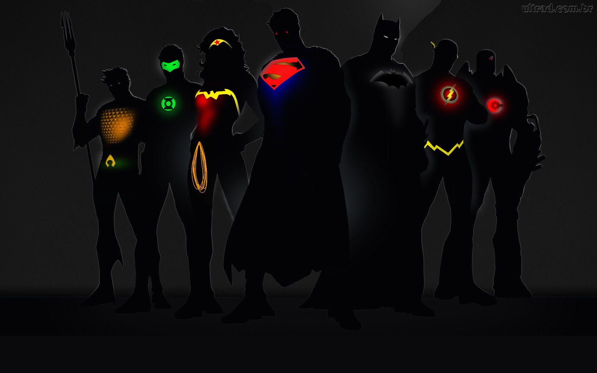 Papel de Parede DC Comics   Super Heris 1920x1200