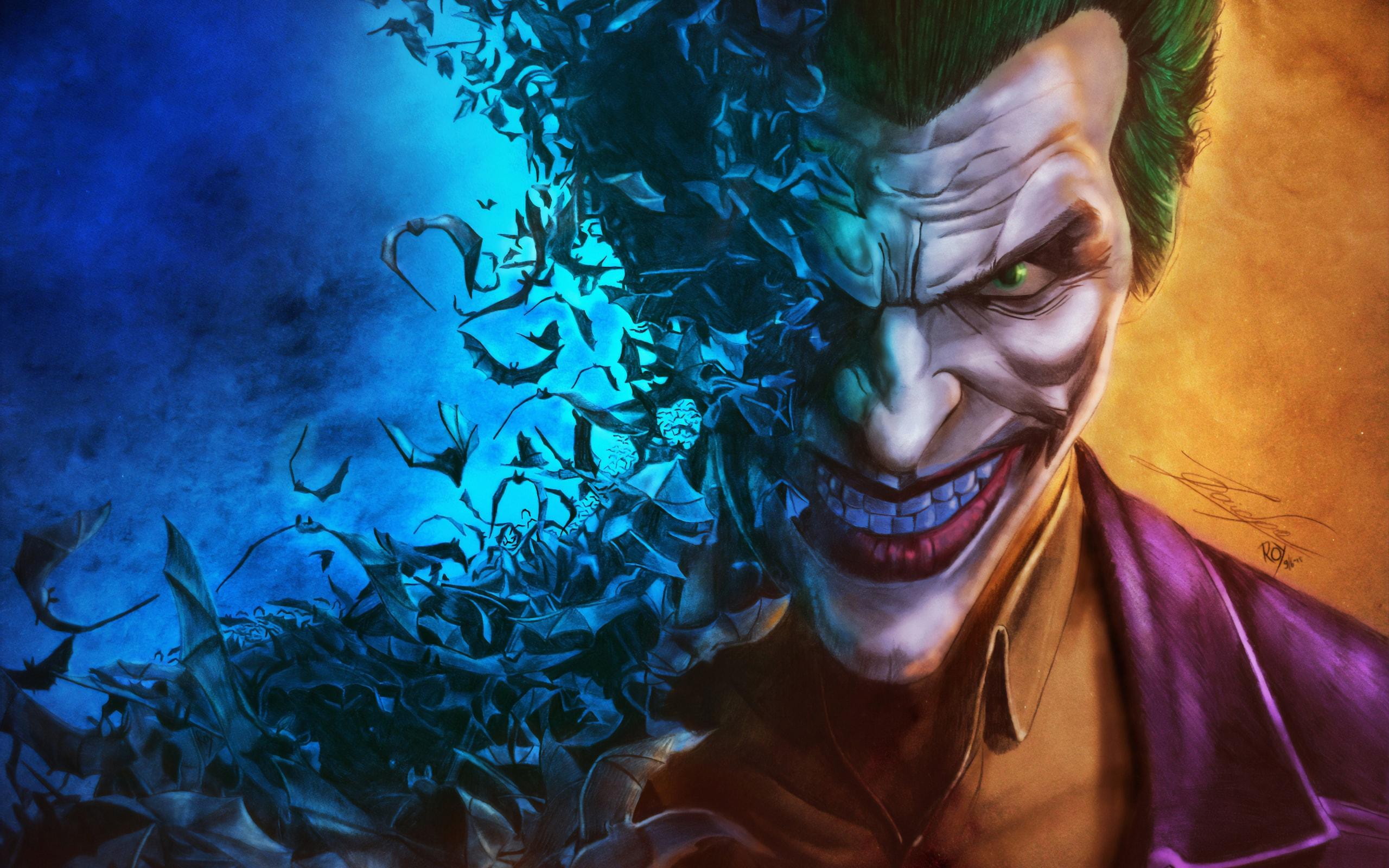 Wallpaper Art DC Comics Joker   uBackgroundcom 2560x1600