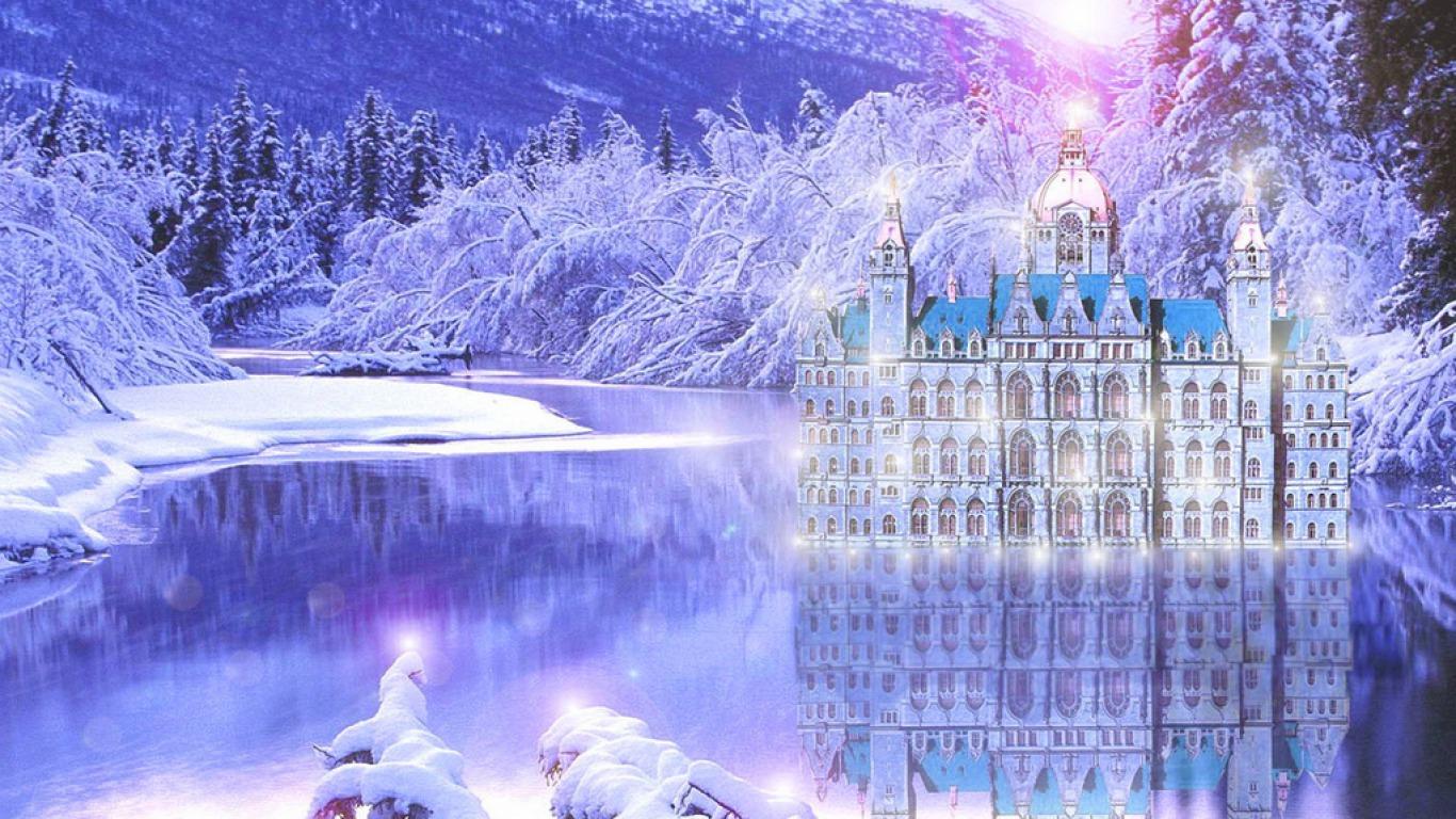 desktop wallpaper winter themes   wwwwallpapers in hdcom 1366x768