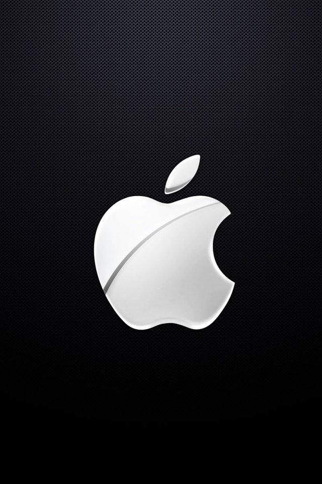 Now Best Apples Logo Wallpaper Background For iPhone 4 or 4s 640x960