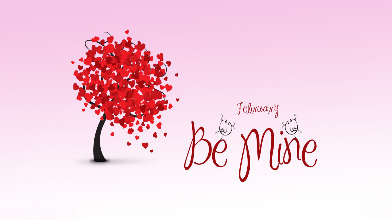 Cute Valentines Day Wallpapers 1366x768