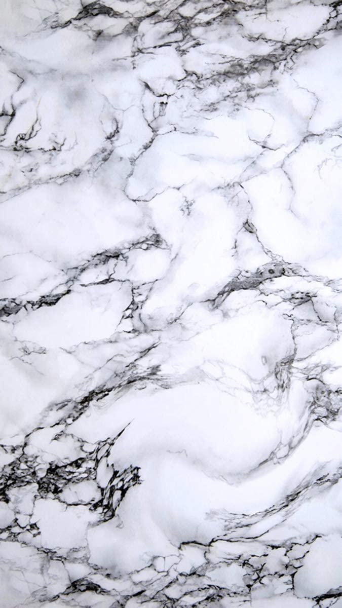 White Gray Marble Peel and Stick Wallpaper   Use as Peel and 675x1200