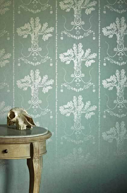 Equestrian Toile Wallpaper Wallpapersafari