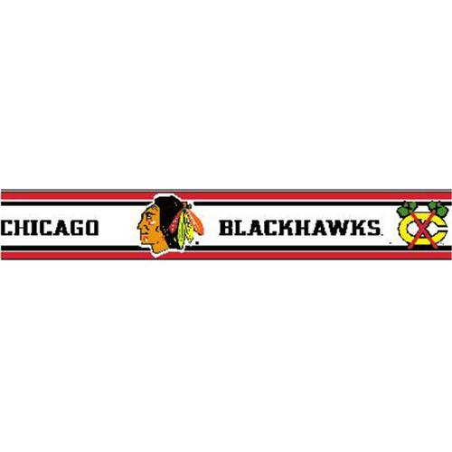 Chicago Blackhawks 5 5 Inch Height Wallpaper Border   Walmartcom 500x500