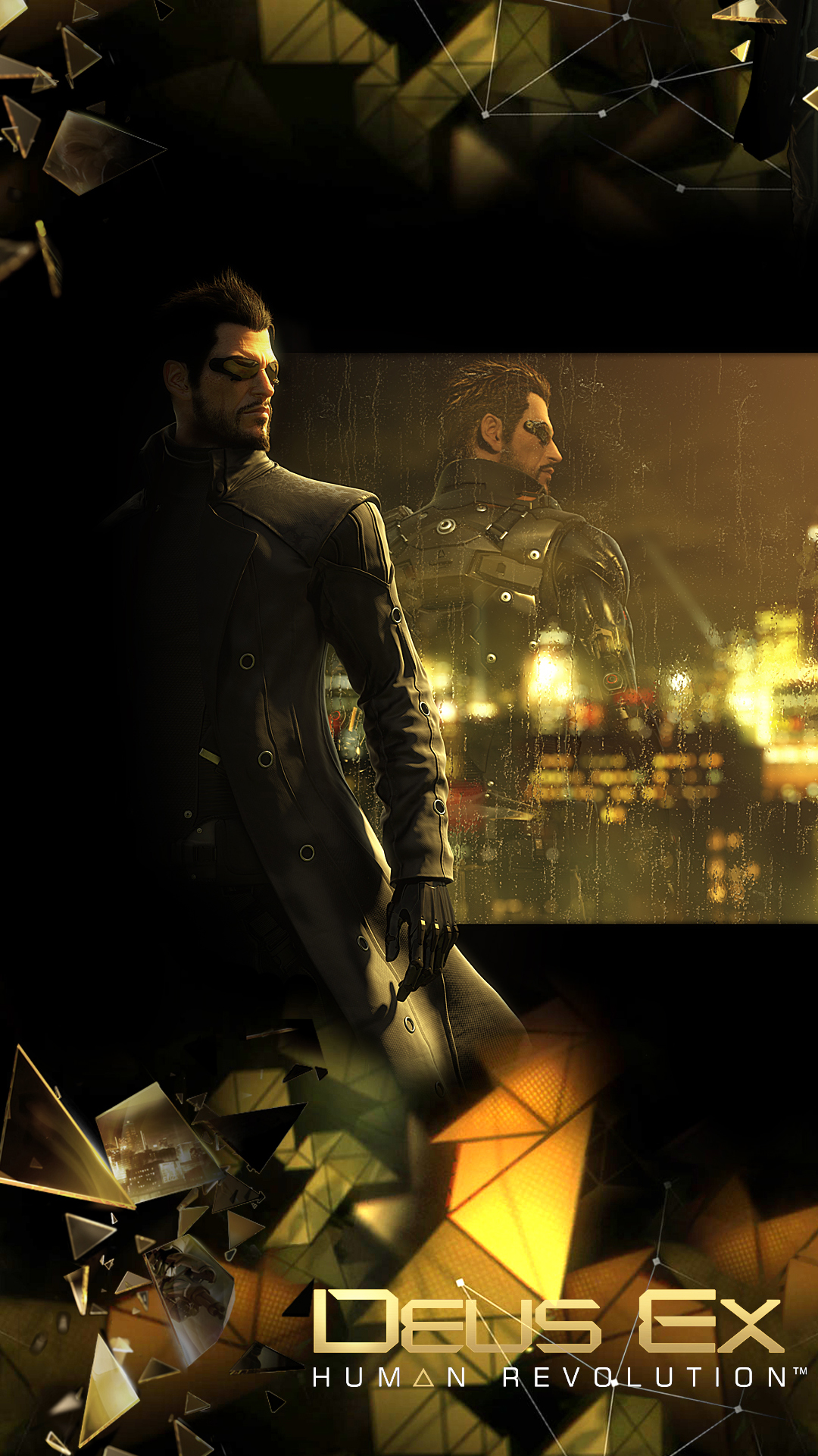 Deus Ex Human Revolution portrait wallpapers 1080x1920